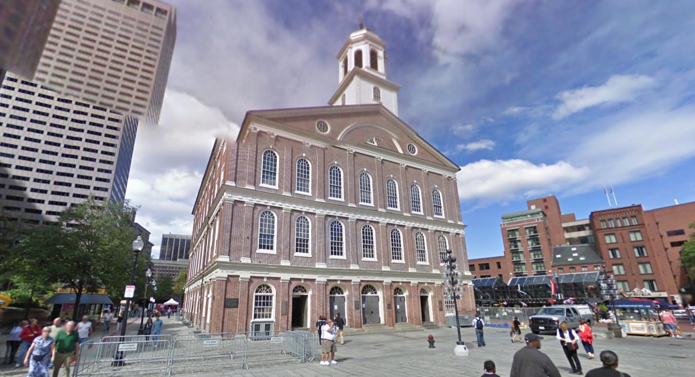 1- Faneuil Hall Boston