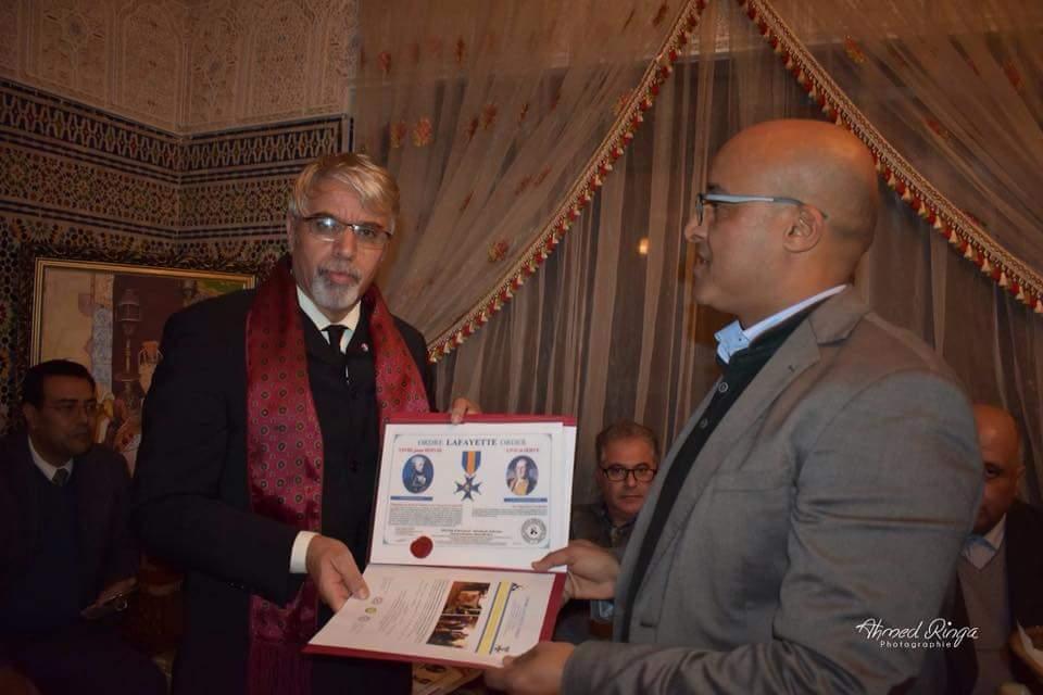2- Remise Diplone Honneur Belhaj Rabat 16dec17